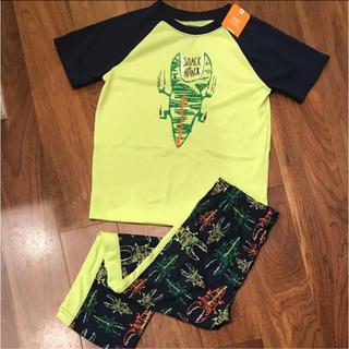 新品 ジンボリー春パジャマ 120 半袖 長ズボン