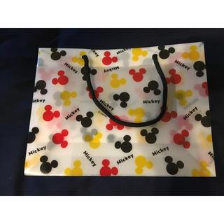 ディズニー(Disney)のDisney クリアショップ袋 美品(ショップ袋)