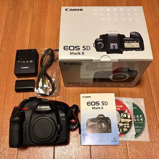 キヤノン(Canon)のCANON EOS5D MarkII(デジタル一眼)