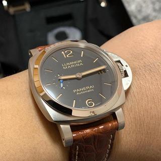 オフィチーネパネライ(OFFICINE PANERAI)のPANERAI パネライ ルミノール 1950 3DAYS(腕時計(アナログ))
