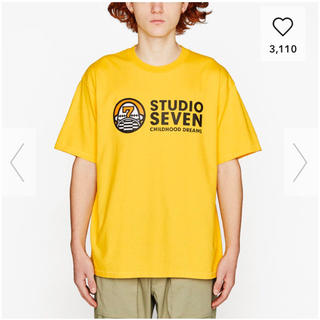 ジーユー(GU)の送料込⭐️新品未使用GUSEVEN TシャツSサイズGU STUDIOSEVEN(Tシャツ/カットソー(半袖/袖なし))