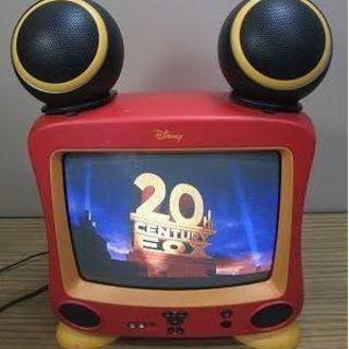 ミッキー ブラウン管テレビ 14型 2004年製造 中古(ラジオ)