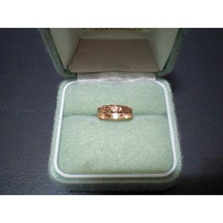ハワイアンジュエリー 14K ピンクゴールド(リング(指輪))