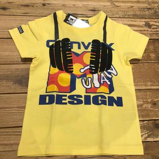 コンベックス(CONVEX)のコンベックス 110 イエロー  未使用 タグ付き(Tシャツ/カットソー)