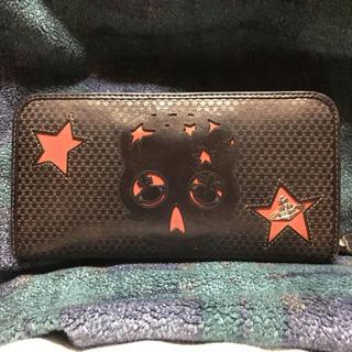ccc1b39a6707 ヴィヴィアンウエストウッド(Vivienne Westwood)のヴィヴィアンウエストウッド スカル 長財布(財布