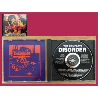 ディスオーダー♪THE COMPLETE DISORDER♪CDアルバム(ポップス/ロック(洋楽))