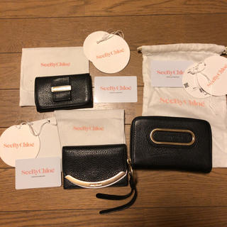 シーバイクロエ(SEE BY CHLOE)のsee by chloe シーバイ クロエ 財布 カードケース キーケース(財布)