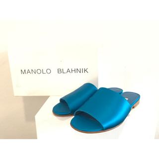 マノロブラニク(MANOLO BLAHNIK)の新品未使用 Manolo Blahnik マノロブラニク サンダル(サンダル)