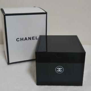 CHANEL - CHANEL蓋付きコットンケース、小物入れ(非売品)