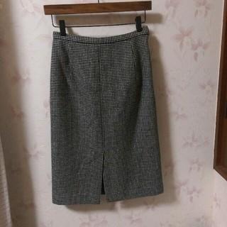 ニジュウサンク(23区)の23区(ニジュウサンク)千鳥格子スカート(ひざ丈スカート)