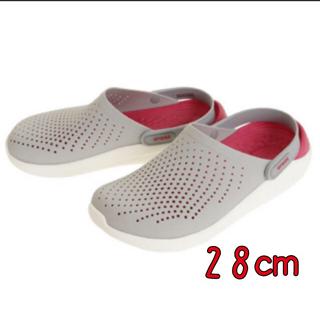 crocs - 新品 28㎝ クロックス ライトライド  クロッグ パールホワイト