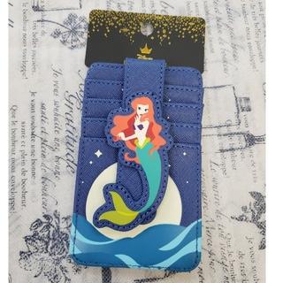 ディズニー(Disney)の日本未発売 アリエル カードケース ラウンジフライ リトルマーメイド(パスケース/IDカードホルダー)
