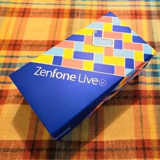 エイスース(ASUS)のASUS ZenFone live(L1 ) SIMフリー 国内正規品(スマートフォン本体)