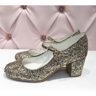シロップ(syrup.)のRose Marie seoir ♡ twinkle glitter shoes(ハイヒール/パンプス)