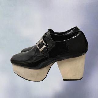 ジュエティ(jouetie)のウッドソールローファー(ローファー/革靴)