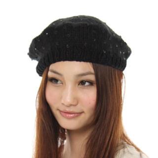 キャセリーニ(Casselini)のキャセリーニ ♡ ニットベレー帽  ニット帽(ヘアバンド)