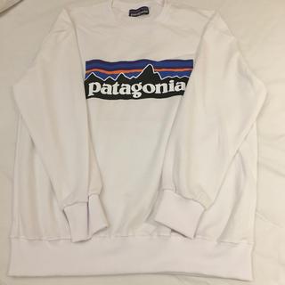 patagonia - patagonia パタゴニア スウェット トレーナー 白 ホワイト