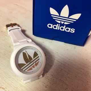 アディダス(adidas)のadidas 時計 電池◎(腕時計)