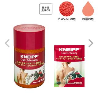 クナイプ(Kneipp)のKNEIPP クナイプ 入浴剤 バスソルト(入浴剤/バスソルト)