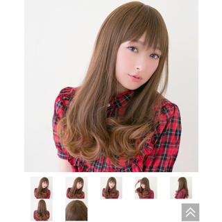 ナバーナウィッグ(NAVANA WIG)のNavana wig  ナバーナ ウィッグ 未使用 ロング カール ストレート(ロングカール)