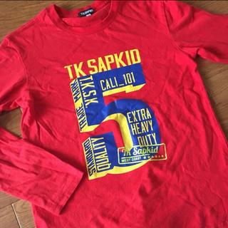 タケオキクチ(TAKEO KIKUCHI)のTK SAPKID ロンT 長袖(Tシャツ/カットソー)