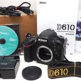 Nikon - 不動の人気★ ニコン D610 ボディ