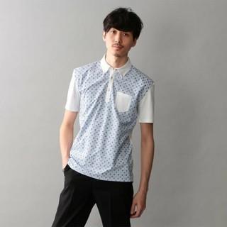 ギルドプライム(GUILD PRIME)のラブレス  コンビネーション ポロシャツ(ポロシャツ)