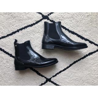 moda italianaウイングチップレインシューズ(レインブーツ/長靴)