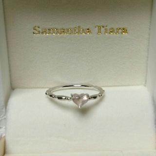 サマンサティアラ(Samantha Tiara)のサマンサティアラ!k18wg ピンキーリング(リング(指輪))