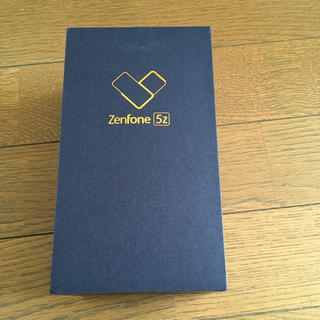 エイスース(ASUS)のzenfone5z zs620kl 新品未開封(スマートフォン本体)