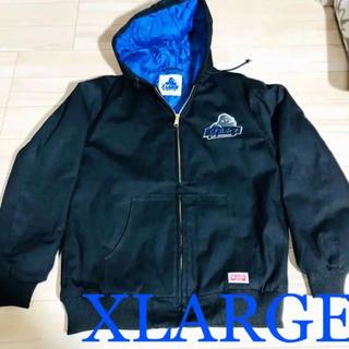 エクストララージ(XLARGE)のXLARGE ジャケット S ブルー(ナイロンジャケット)