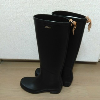 エーグル(AIGLE)の人気☆AIGLEミスジュリエット☆長靴レインブーツサイズ35☆別箱あり(レインブーツ/長靴)