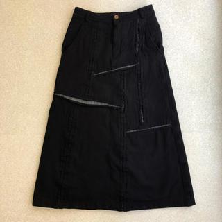 コムデギャルソン(COMME des GARCONS)の3月28日まで特別価格28000❤️希少品❤️コムデギャルソン スカート S 黒(ロングスカート)