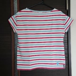 オーシバル(ORCIVAL)のオーチバル トリコロールボーダー(Tシャツ(半袖/袖なし))