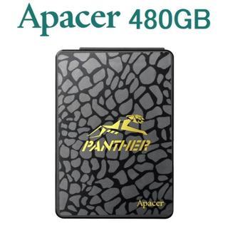 新品 Apacer PANTHER SSD AP480GAS340G-1 未開封