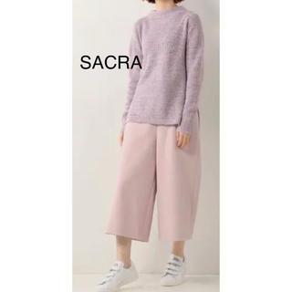 サクラ(SACRA)の【美品】SACRA サクラ コットンカシミヤ ミックスカラー ニットサクラ(ニット/セーター)