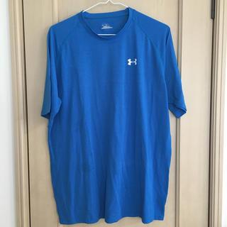 アンダーアーマー(UNDER ARMOUR)のアンダーアーマー ☆ブルートレーニングTシャツ(Tシャツ/カットソー(半袖/袖なし))