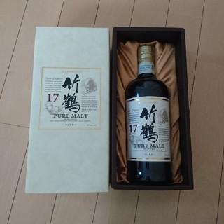 ニッカウイスキー(ニッカウヰスキー)の竹鶴17年ピュアモルト700ml(ウイスキー)