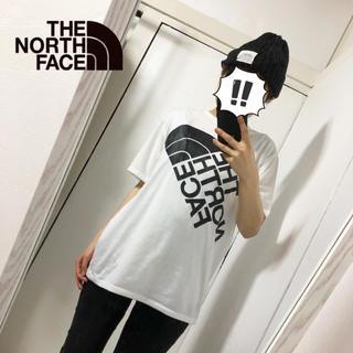 THE NORTH FACE - 【THE NORTH FACE】ブランドロゴ入り クルーネックTシャツ