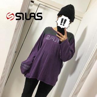 サイラス(SILAS)の【SILAS】ブランドロゴ入りカットソー(カットソー(長袖/七分))