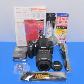 Nikon - 美品❤️ショット数極少❤️Nikon D3000❤VRレンズ❤