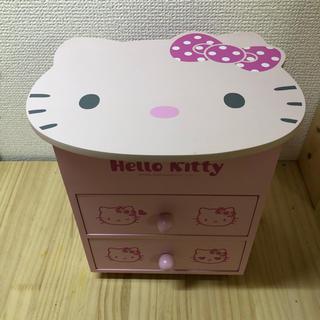 ハローキティ - キティ木製ボックス