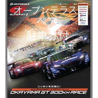 super GT 開幕戦 3Fオープンテラスパス (ペア)駐車券付 スーパーGT(モータースポーツ)