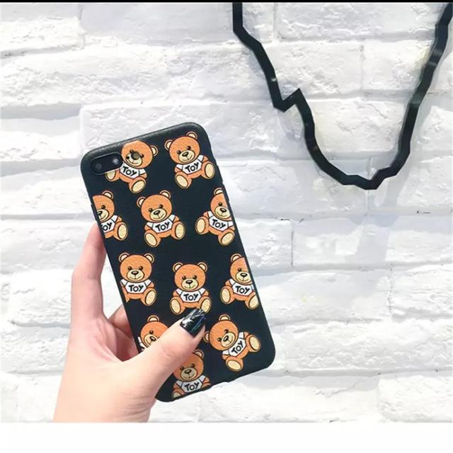 おしゃれ iphone7 ケース 通販 | MOSCHINO - モスキーノ柄iPhoneケース★の通販 by puppy♡セレクトショップ's shop|モスキーノならラクマ