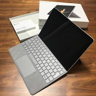 Microsoft - Surface Go 64GB シグネチャータイプカバー グレー