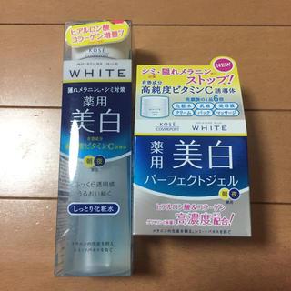 コーセーコスメポート(KOSE COSMEPORT)のモイスチュアホワイト 化粧水 ジェル セット 未開封(化粧水 / ローション)