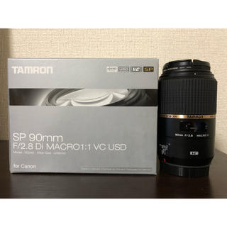 TAMRON - TAMRON SP 90mm F/2.8 Di MACRO 1:1 VC USD