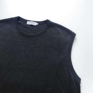 コモリ(COMOLI)の【ゆーや様専用】graphpaper suvin vest navy サイズ1(ベスト)