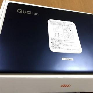 エーユー(au)の(開封品未使用)au Qua Tab PZ LGT32 Navy(スマートフォン本体)