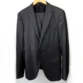 ミッシェルクラン(MICHEL KLEIN)の美品 ミッシェルクラン 光沢 ジャケット スーツ 上下 MM7(セットアップ)